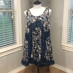 Kori America Small Dress Floral Lace NWT